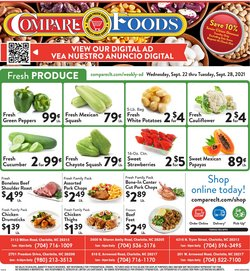 Grocery & Drug deals in the Compare Foods catalog ( Expires tomorrow)