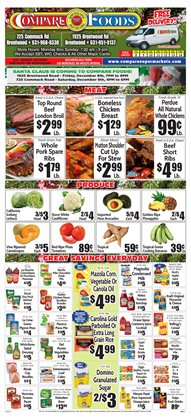 Cakes deals in the Compare Foods weekly ad in New York