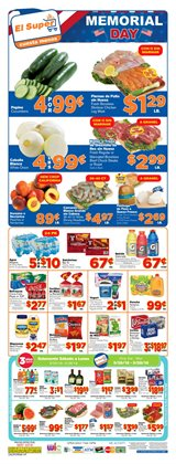 Grocery & Drug deals in the El Super weekly ad in Fontana CA
