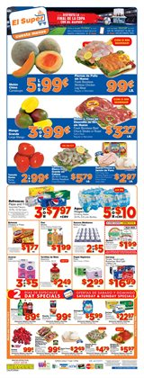 Detergent deals in the El Super weekly ad in Los Angeles CA