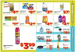 Water deals in the El Super weekly ad in Fullerton CA
