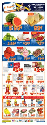 Grocery & Drug deals in the El Super weekly ad in Los Angeles CA