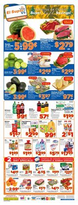 Fabric softener deals in the El Super weekly ad in Santa Ana CA