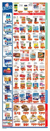 Milk deals in the El Super weekly ad in Van Nuys CA