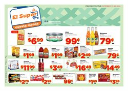 Wine deals in the El Super weekly ad in Las Vegas NV