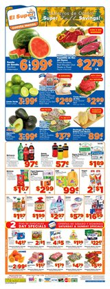 Grocery & Drug deals in the El Super weekly ad in Pomona CA