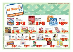 Milk deals in the El Super weekly ad in Reseda CA