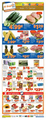 El Super deals in the Las Vegas NV weekly ad