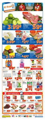 Grocery & Drug deals in the El Super weekly ad in North Hollywood CA