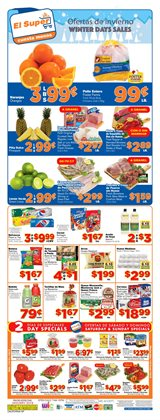 Grocery & Drug deals in the El Super weekly ad in Garden Grove CA