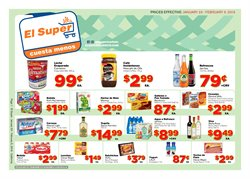 El Super deals in the Van Nuys CA weekly ad