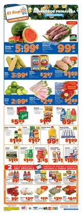 Grocery & Drug deals in the El Super weekly ad in Canoga Park CA