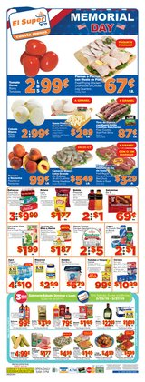 Grocery & Drug deals in the El Super weekly ad in Tucson AZ