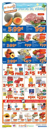 Grocery & Drug deals in the El Super weekly ad in San Gabriel CA