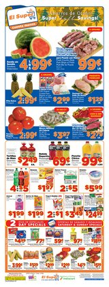 Grocery & Drug deals in the El Super weekly ad in Van Nuys CA