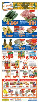 El Super deals in the San Diego CA weekly ad