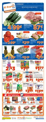 Grocery & Drug deals in the El Super weekly ad in Gilbert AZ
