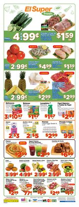 Grocery & Drug deals in the El Super weekly ad in Alhambra CA
