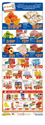 Grocery & Drug deals in the El Super weekly ad in San Pedro CA
