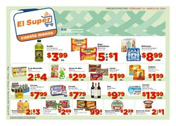 Grocery & Drug offers in the El Super catalogue in Chino Hills CA ( 6 days left )