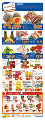 Grocery & Drug offers in the El Super catalogue in Santa Ana CA ( Expires tomorrow )