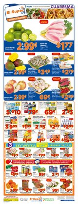 Grocery & Drug offers in the El Super catalogue in Las Vegas NV ( 2 days ago )
