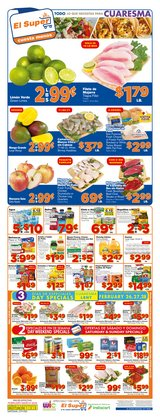 Grocery & Drug offers in the El Super catalogue in San Diego CA ( 2 days ago )
