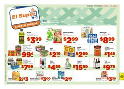Grocery & Drug offers in the El Super catalogue in Fresno CA ( 9 days left )