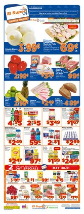 Grocery & Drug offers in the El Super catalogue in La Habra CA ( 2 days left )