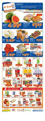 Grocery & Drug offers in the El Super catalogue in Chula Vista CA ( 3 days left )