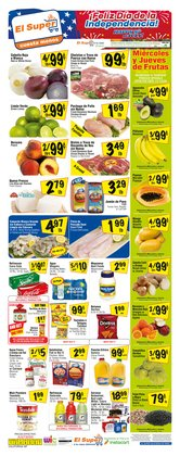 Grocery & Drug offers in the El Super catalogue in Montebello CA ( 3 days left )