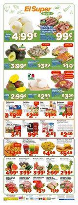 Grocery & Drug offers in the El Super catalogue in Long Beach CA ( Expires tomorrow )