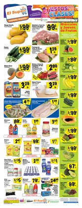 Grocery & Drug offers in the El Super catalogue in Ontario CA ( Expires tomorrow )