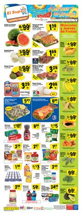 Grocery & Drug offers in the El Super catalogue in Fresno CA ( 2 days left )