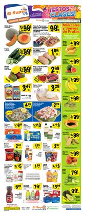 Grocery & Drug offers in the El Super catalogue in Tucson AZ ( Published today )