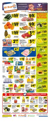 Grocery & Drug offers in the El Super catalogue in Ontario CA ( 1 day ago )