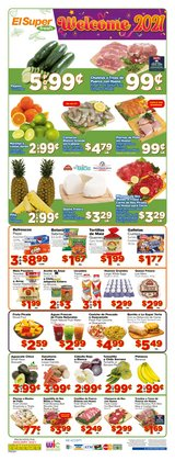Grocery & Drug offers in the El Super catalogue in Whittier CA ( Expires tomorrow )