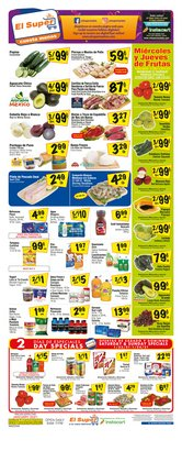 Grocery & Drug offers in the El Super catalogue in Phoenix AZ ( Expires tomorrow )