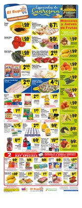 Grocery & Drug offers in the El Super catalogue in Redlands CA ( 3 days left )