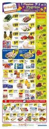 Grocery & Drug deals in the El Super catalog ( 2 days left)