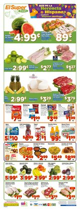 Grocery & Drug deals in the El Super catalog ( Expires today)