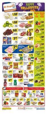 Grocery & Drug deals in the El Super catalog ( Expires tomorrow)