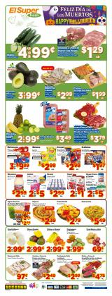 Grocery & Drug deals in the El Super catalog ( 1 day ago)