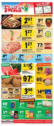 Barbecue deals in the Fiesta Mart weekly ad in Houston TX
