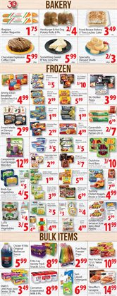 Bakery deals in the Food Bazaar weekly ad in New York