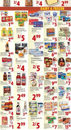 Breakfast deals in the Food Bazaar weekly ad in New York
