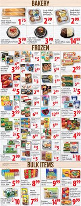 Desserts deals in the Food Bazaar weekly ad in New York