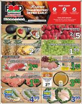 Thanksgiving deals in the Food Bazaar catalog ( 4 days left)