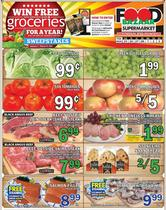 Grocery & Drug offers in the Food Bazaar catalogue ( Expires today )