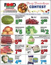 Grocery & Drug deals in the Food Bazaar catalog ( Expires tomorrow)